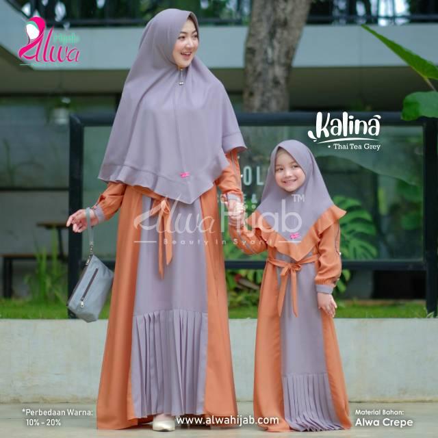 Baju seragam pengajian ibu dan anak