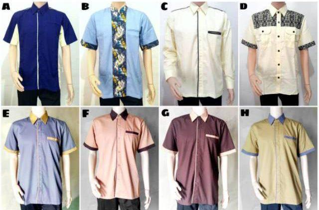 baju seragam pengajian pria